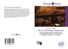 Bookcover of M-33 (Michigan Highway)