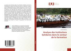 Bookcover of Analyse des Institutions Solidaires dans le secteur de la formation
