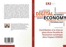 Buchcover von Contribution à la mise en place d'une fiscalité de l'économie numérique dans l'espace CEDEAO