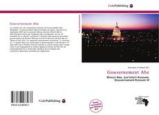 Bookcover of Gouvernement Abe