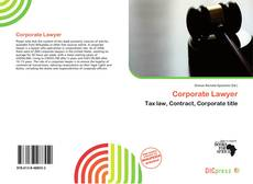 Copertina di Corporate Lawyer