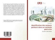 Identification des secteurs porteurs dans un contexte post-crise kitap kapağı