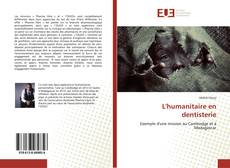 Bookcover of L'humanitaire en dentisterie