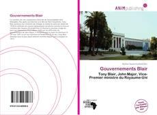 Capa do livro de Gouvernements Blair