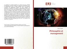 Bookcover of Philosophie et management