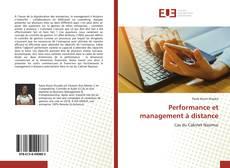 Portada del libro de Performance et management à distance