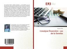 Portada del libro de L'analyse financière : cas de la Senelec