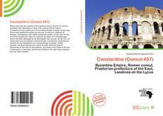 Capa do livro de Constantine (Consul 457)