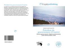 Portada del libro de Président du gouvernement (Croatie)