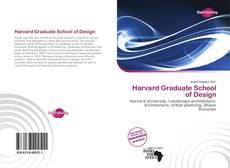 Couverture de Harvard Graduate School of Design