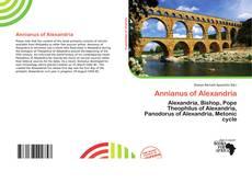 Buchcover von Annianus of Alexandria