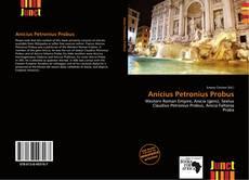 Capa do livro de Anicius Petronius Probus