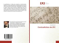 Couverture de Contradiction de ZFC