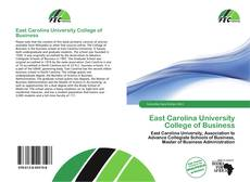 Bookcover of East Carolina University College of Business