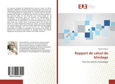 Capa do livro de Rapport de calcul de blindage
