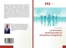 La formation professionnelle en entreprises sénégalaises的封面