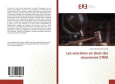 Bookcover of Les sanctions en droit des assurances CIMA