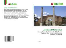 Bookcover of John and Marcianus