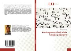 Capa do livro de Aménagement lexical du Lingala populaire