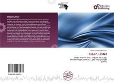 Dean Lister的封面