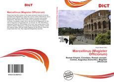 Bookcover of Marcellinus (Magister Officiorum)