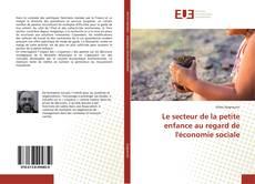 Bookcover of Le secteur de la petite enfance au regard de l'économie sociale