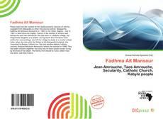 Buchcover von Fadhma Aït Mansour