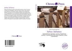 Julius Julianus kitap kapağı