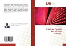 Bookcover of Précis de fiscalité des affaires Volume I