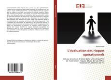 Bookcover of L'évaluation des risques opérationnels