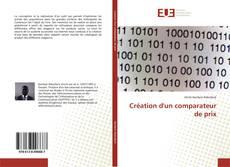 Copertina di Création d'un comparateur de prix