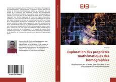 Capa do livro de Exploration des propriétés mathématiques des homographies