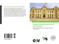 Bookcover of Gouvernement provisoire de l'Oregon
