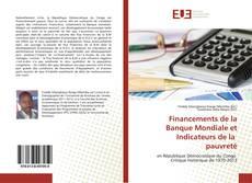 Couverture de Financements de la Banque Mondiale et Indicateurs de la pauvreté