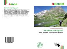 Bookcover of Lomatium ambiguum