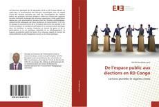 Buchcover von De l'espace public aux élections en RD Congo