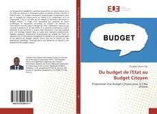 Bookcover of Du budget de l'Etat au Budget Citoyen
