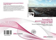 Borítókép a  Formation du gouvernement fédéral belge de 2007 - hoz