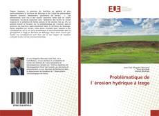 Problématique de l`érosion hydrique à Izege的封面