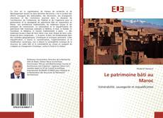 Borítókép a  Le patrimoine bâti au Maroc - hoz