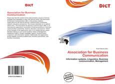 Couverture de Association for Business Communication