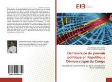 Обложка De l'exercice du pouvoir politique en République Démocratique du Congo