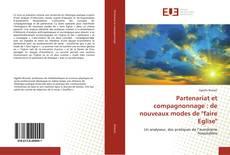 """Capa do livro de Partenariat et compagnonnage : de nouveaux modes de """"faire Eglise"""""""