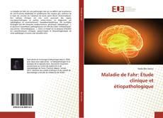 Couverture de Maladie de Fahr: Étude clinique et étiopathologique