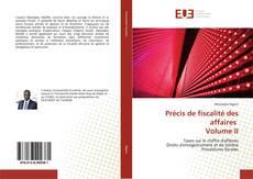 Bookcover of Précis de fiscalité des affaires Volume II