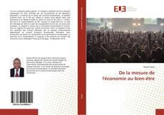 Capa do livro de De la mesure de l'économie au bien-être
