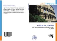 Bookcover of Crescentius of Rome