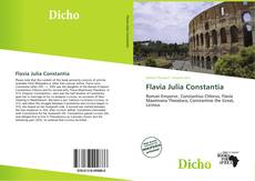 Bookcover of Flavia Julia Constantia