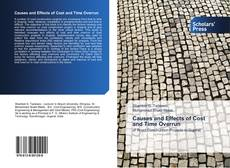 Bookcover of Causes and Effects of Cost and Time Overrun
