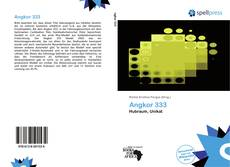 Bookcover of Angkor 333